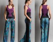Pantalon large imprimé : Pantalons, jeans, shorts par eon