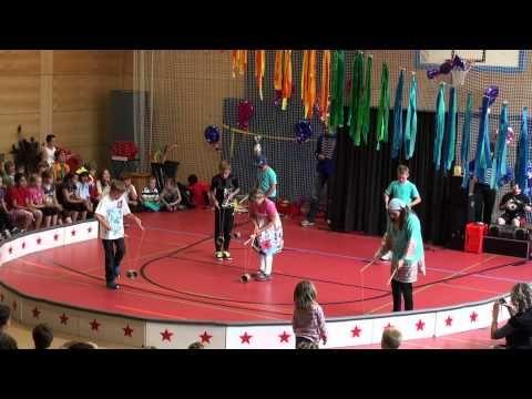 Lindenberg im Allgäu - Wir machen Zirkus an der Grundschule - Die Vorstellung - 2012 - YouTube