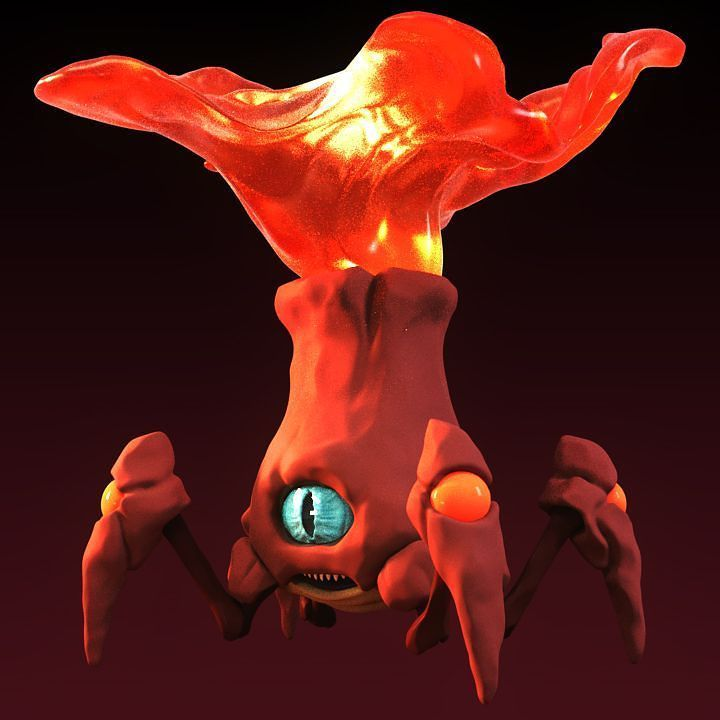 Banging out a quick concept  #zbrush#art#artist#artwork#creature#monster#fantasy#concept#sculpting#digitalart#creative#volcano#imagination#illustration#science#earthporn#cartoon#underwater#nerd#quadruped#gamedev#conceptart#game#heat#lava#instaart#characterdesign#animal#animation#tech