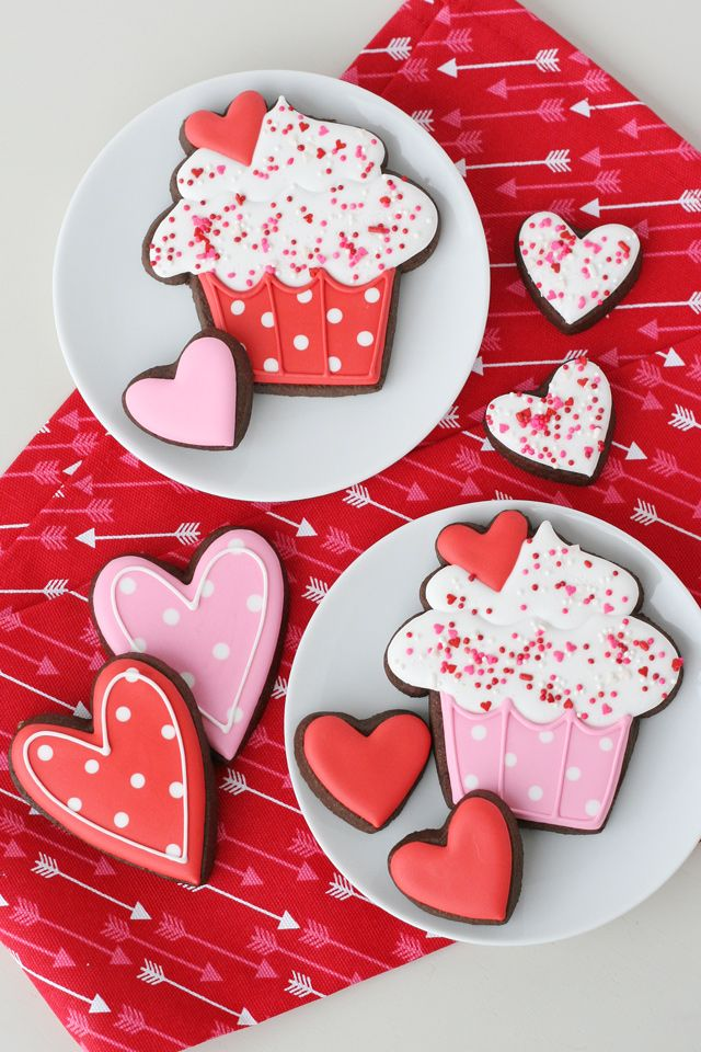 1026 best Valentines day cookies images on Pinterest | Decorated ...