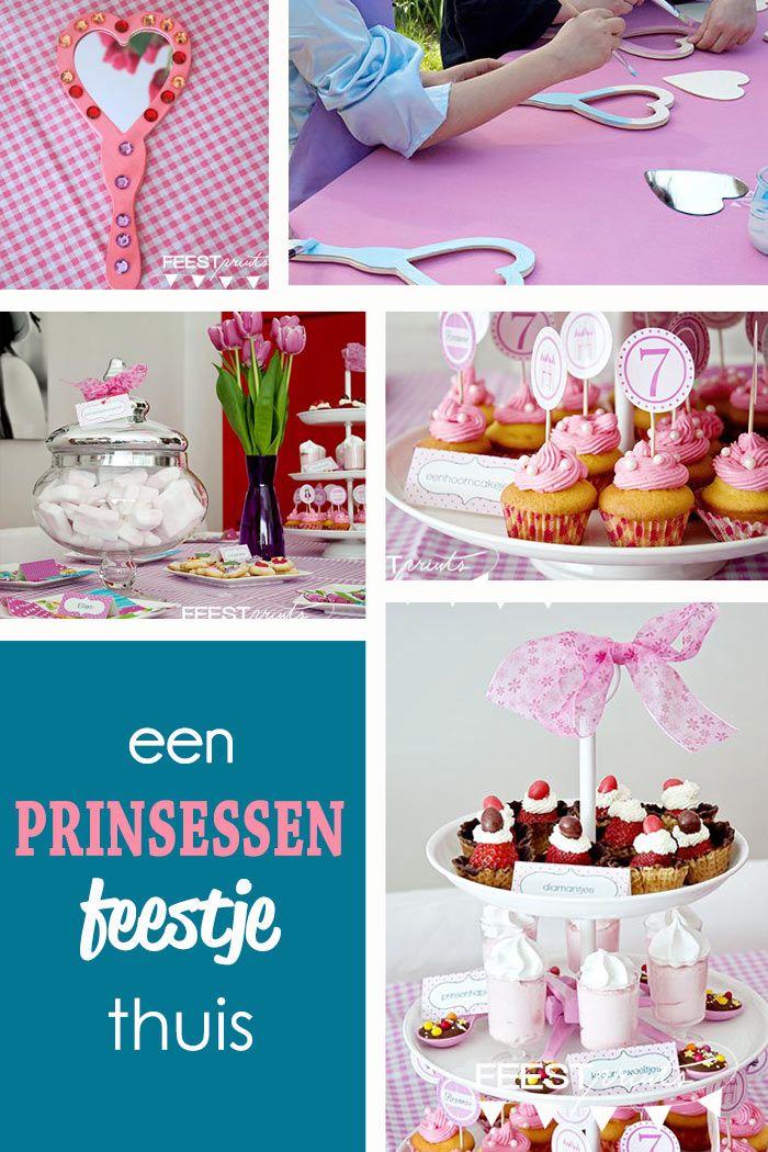 Themafeestje: een prinsessenfeestje thuis