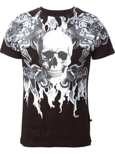 Philipp Plein skull print T-shirt -that should be mine!