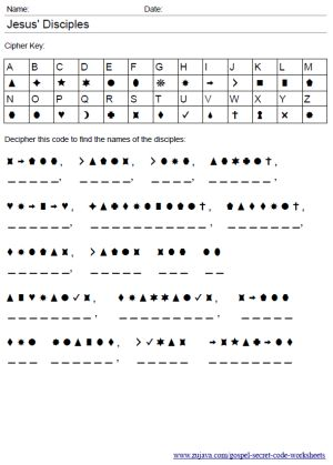 Bible Worksheets - New Testament