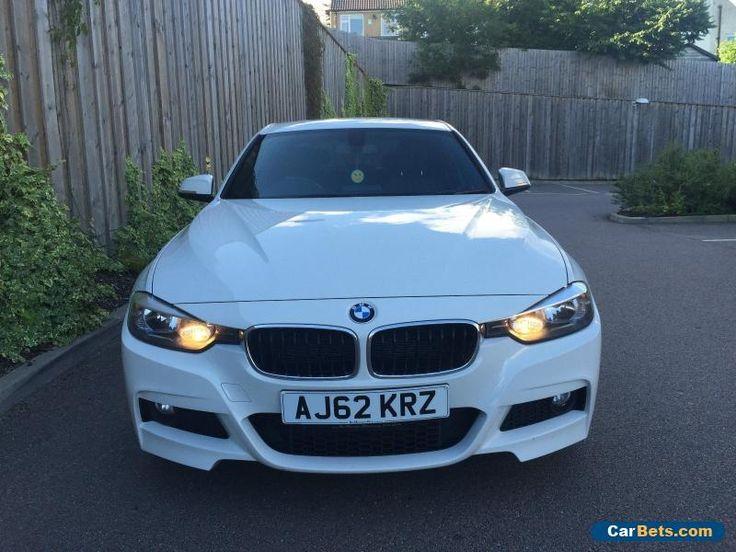 NEW SHAPE BMW 320D M SPORT 2012 (62) PLATE ALPINE WHITE 1 Previous owner #bmw #320dmsport #forsale #unitedkingdom