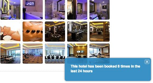 This suggests it must be an decent hotel, as well as the fact that you'd better hurry up and book before it's too late.