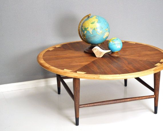 Mid Century Lane Acclaim Round Coffee Table By Thewhitepepper