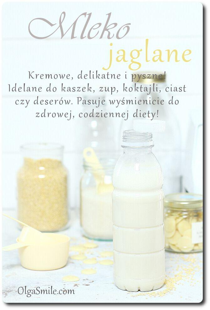 Mleko jaglane - przepis Olgi Smile