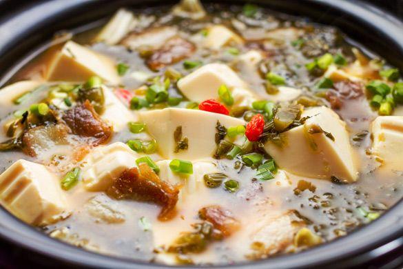 Claypot Sea Cucumber, Leek and Tofu | Food & Drinks ...