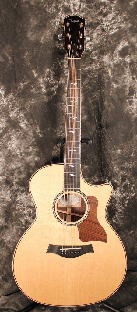 2014 Taylor 814ce Grand Auditorium Cutaway ES2 Acoustic Electric Guitar Natural w/OHSC - Dr. Guitar Music - 1