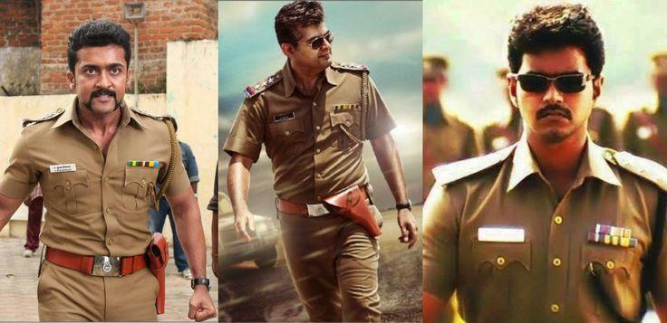 Top 5 actors in police uniform