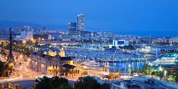 Βαρκελώνη: Μεσόγειος α λα καταλανικά Η πόλη όταν πέφτει η νύχτα
