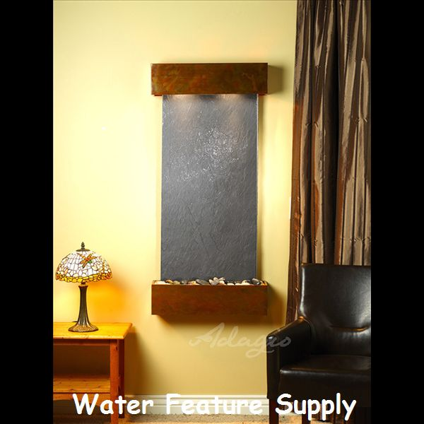 17 best images about the reflection creek wall mounted water feature on pinterest wall. Black Bedroom Furniture Sets. Home Design Ideas