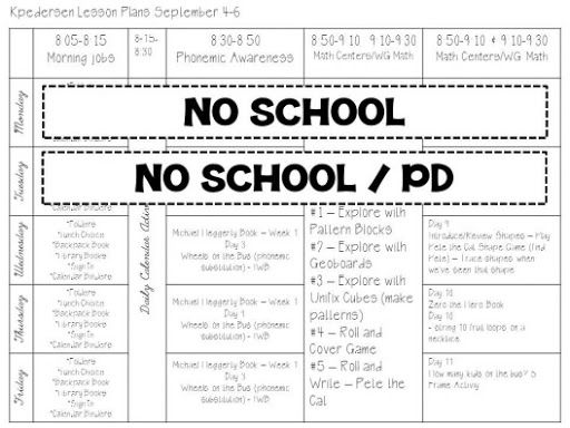 Common Core Pacing Plan Template