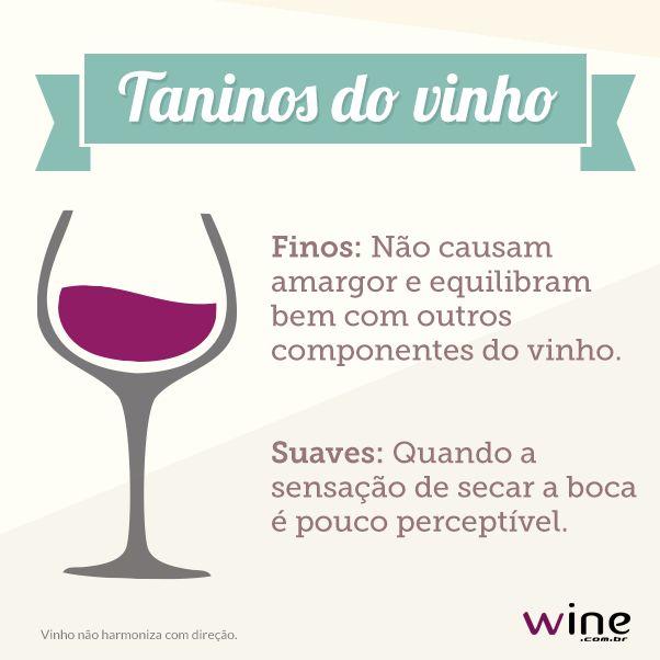 Aprenda mais sobre os taninos do vinho! #wine #vinho #tanino