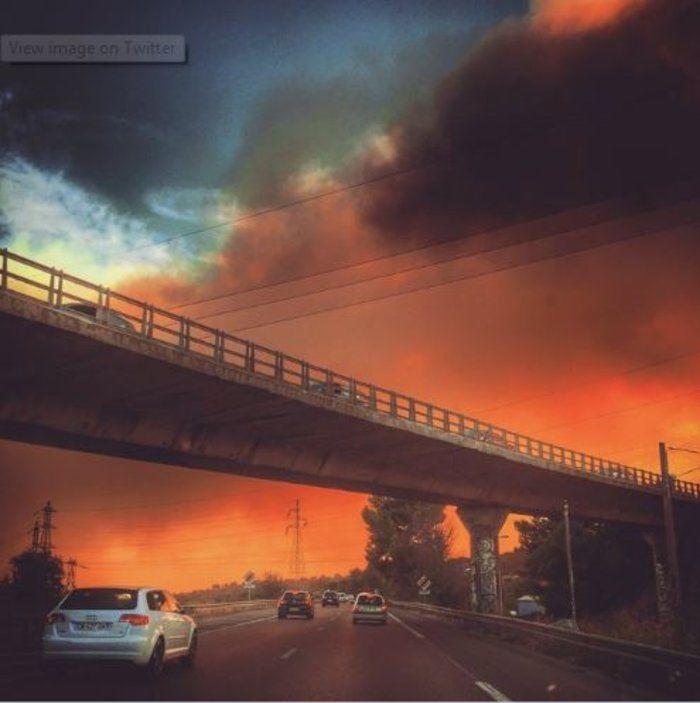 Νύχτα τρόμου στη Μασσαλία – Οι φωτιές απείλησαν σπίτια