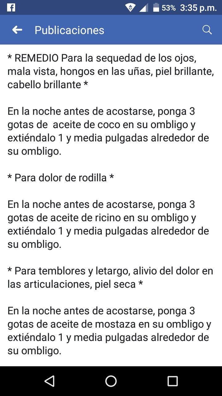 Pin De Angelica Ramirez En Salud Remedios Caseros Aceite De Coco Remedios