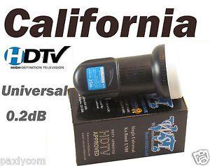FTA Universal Single KU Band LNBF 0 2DB FTA Satellite Dish LNB HDTV Liner   eBay