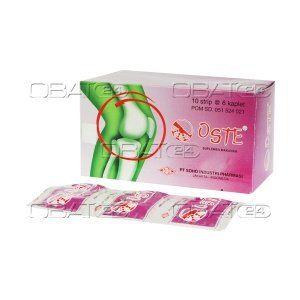 OSTE CAP  Komposisi: Per Oste caplet Glucosamine hydrochloride 250 mg, chondroitin sulfate 200 mg, vit C 25 mg, manganese 0.25 mg, Zn 2.5 mg, Mg 5 mg Pabrik: Soho