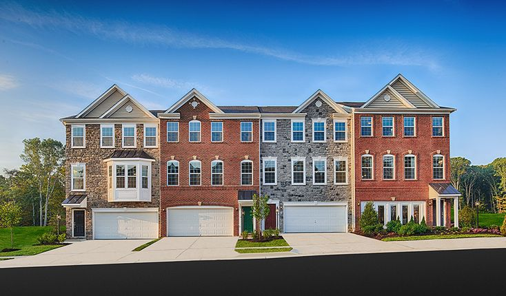 17 best images about virginia dream homes on pinterest for 3 story townhomes