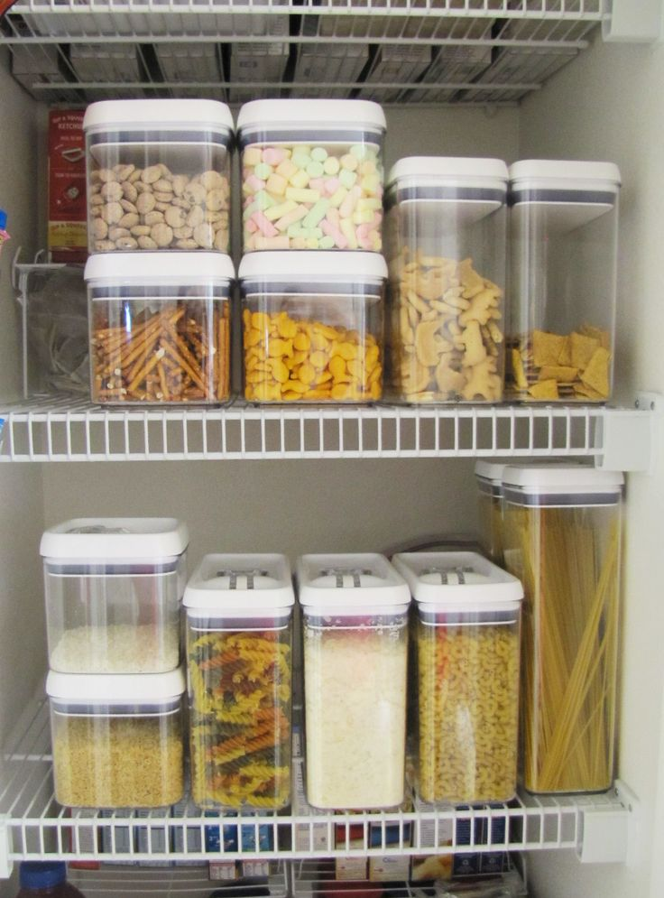 23 best images about organization on pinterest pantry for Organization ideas for kitchen pantry
