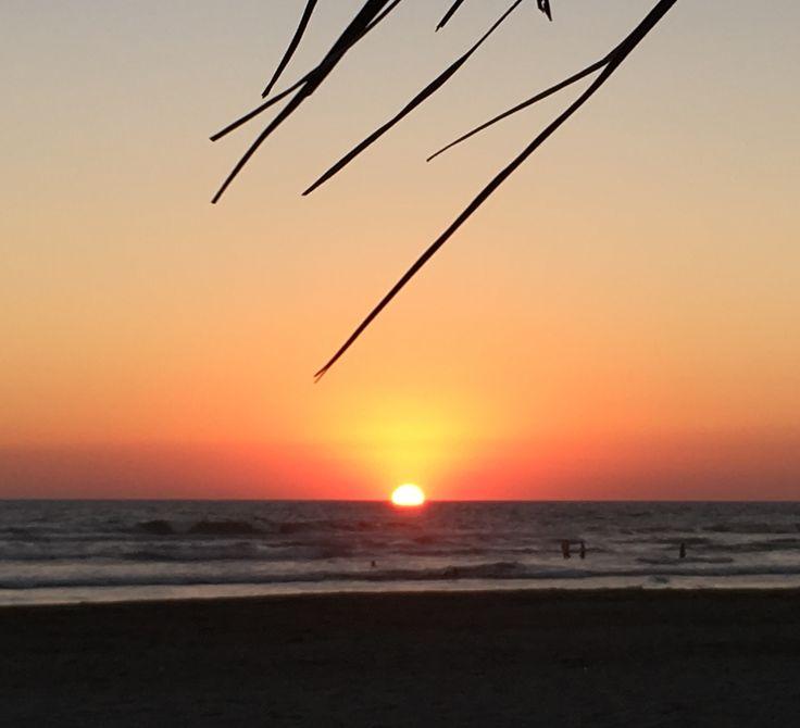 SUNSET 8 ENERO 2017 BARRA VIEJA ACAPULCO, GRO. MEXICO