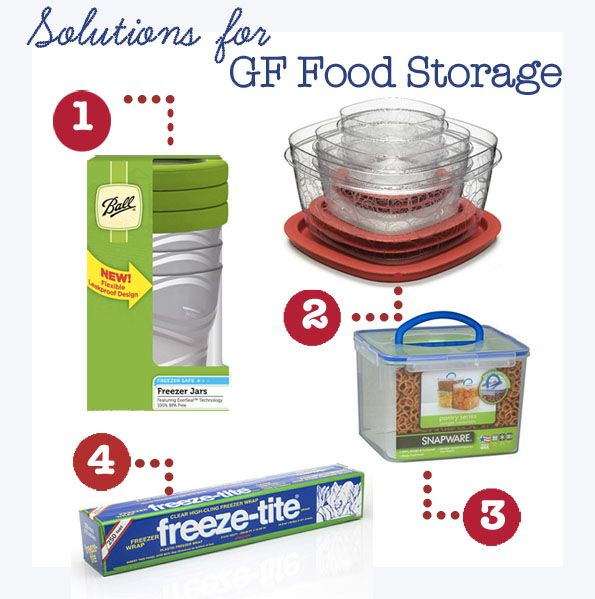 Solutions for Gluten-Free Food Storage