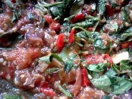 Resep Masakan Indonesia: Resep Sambal Kemangi