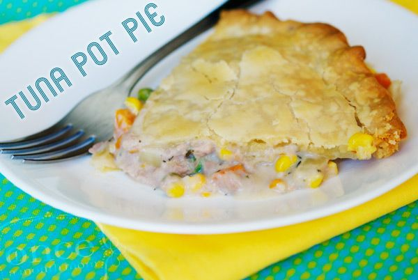 Tuna Pot Pie - The husband & I LOVED this! Luckily I made 2 & froze 1 for later. We didn't have thyme, & I left out the onion 'cause I don't like it... totally a new favorite for our household