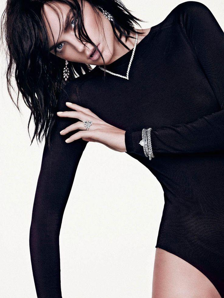 """""""Western Chic""""   Models: Gertrud Hegelund, Photographer: Hunter & Gatti, Vogue Spain, December 2012"""