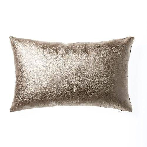 Home Republic Zala Cushion Rose Gold, cushions, metallic cushion