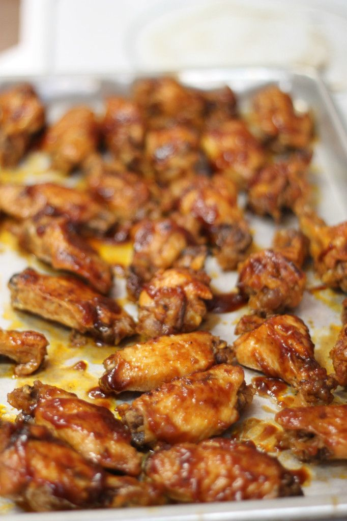 EASY Crockpot BBQ Wings - Making these for game day!!!