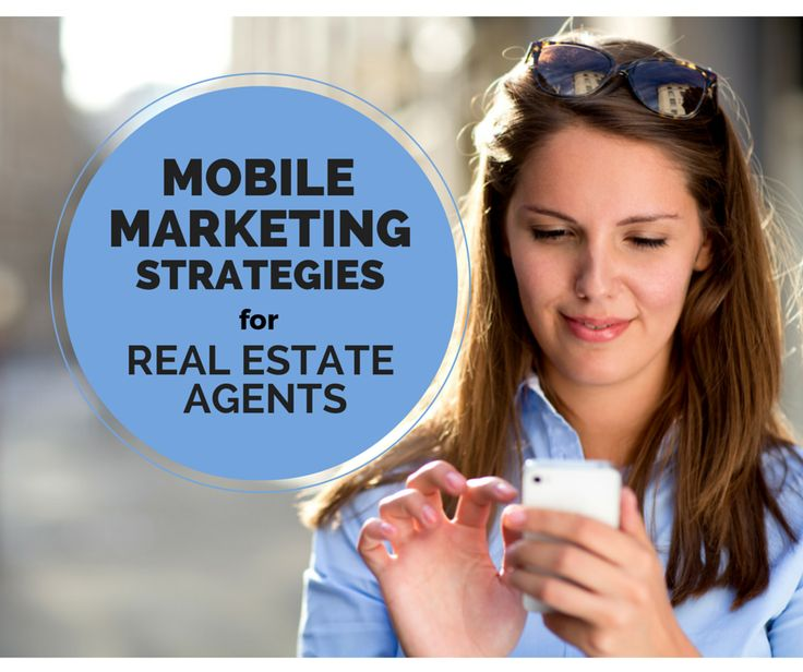 Because you want to be out showing homes, not attached to your desk. #mobilemarketing #realestate