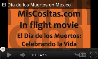 This video about the Day of the Dead celebration in Mexico is narrated in #Spanish.  #DiaDeLosMuertos #DayOfTheDead #holidays #culture #k12 #videoed