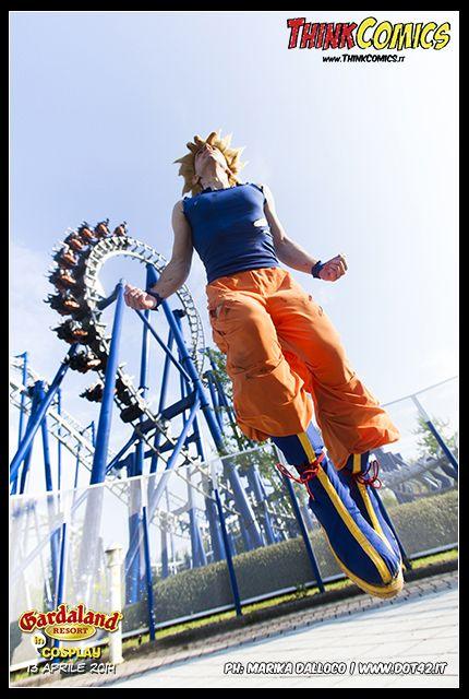 Goku Flying