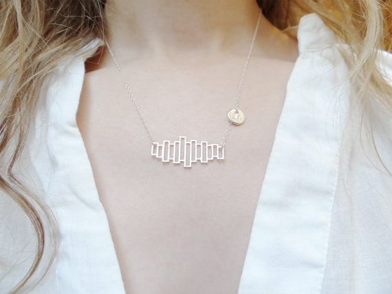 Silver Personalised Bookshelf Necklace, Jane Austen Pride and Prejudice, Bookworm Literary Gifts, Handmade Jewellery | JANE