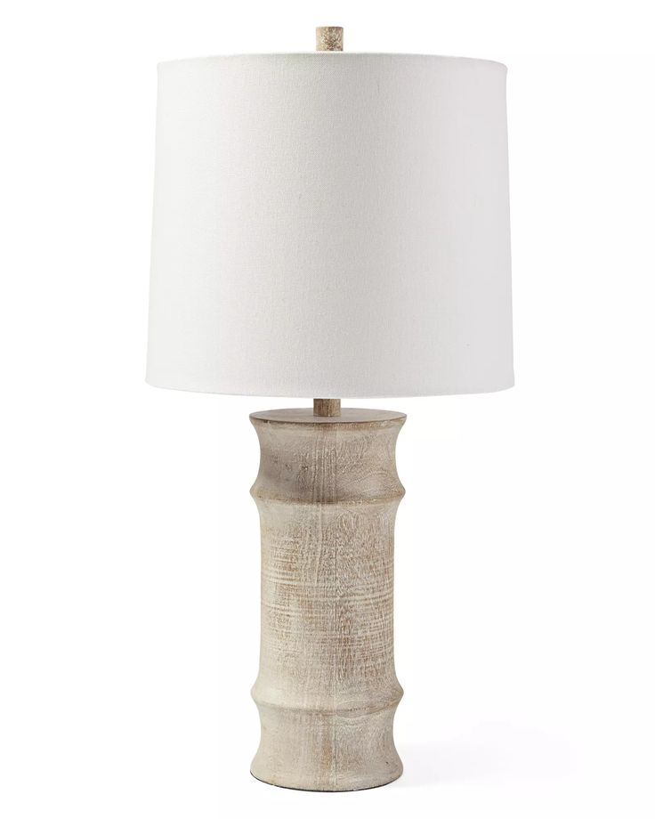 Lamp palm wallpaper via serena lily see more we love the washed tones of this mango wood base so breezy so fresh