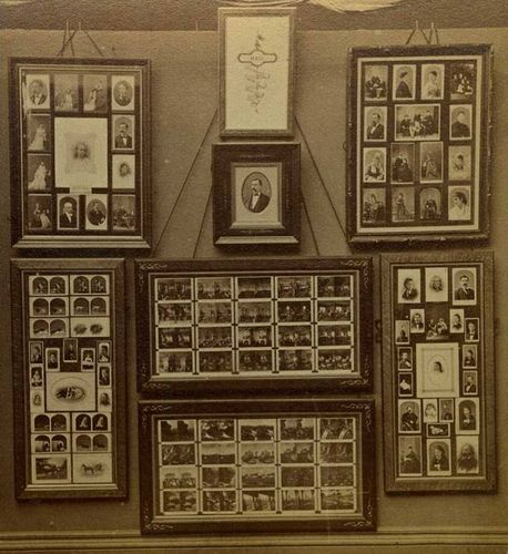 Alfred Stieglitz, Hall's Centennial Exhibit, 1876 (Centennial), Stereocard, half detail The Jeffrey Kraus Collection
