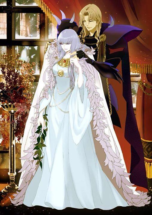 Polaris Hilda & Siegfried Dubhe, Saint Seiya Asgard Saga                                                                                                                                                                                 Plus