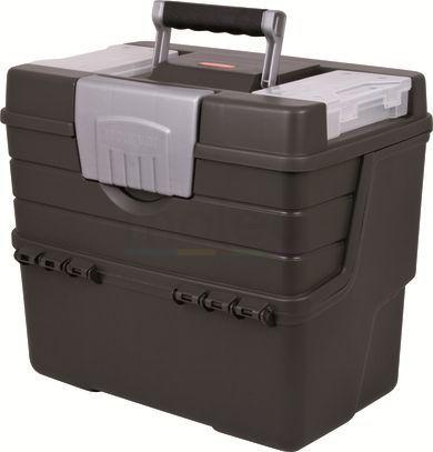 Questa spaziosa scatola degli attrezzi di Moleo è stata creata per essere estremamente capiente ma anche molto leggera!