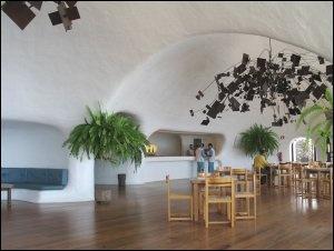 Mirador del Rio, Lanzarote, designed by Cesar Manrique
