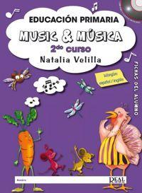 Natalia Velilla: Music & Música, Volumen 2 - Fichas del Alumno MK17874 http://www.carisch.com/esp/producto.asp?sku=MK17874