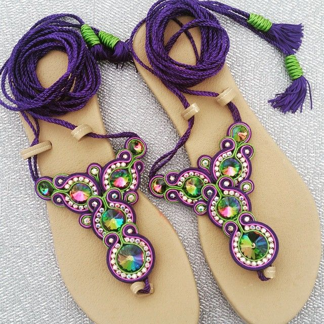 Instagram photo by @dreamaccesories (dreamaccesories) | Iconosquare Soutache techniek.