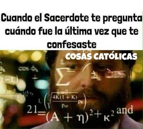 Los Memes más divertidos de Cosas Católicas | Memes Católicos