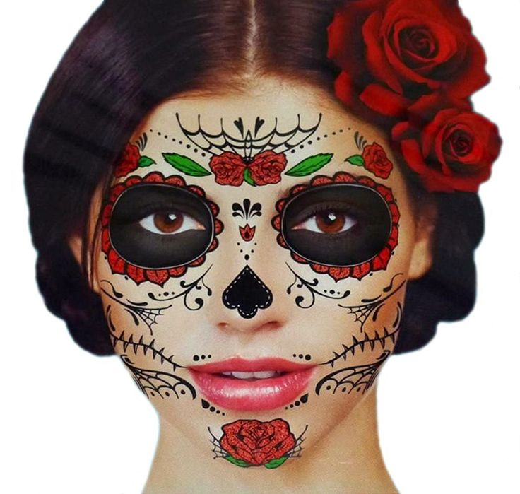 Last moment to get this for this #Halloween! Sugar Skull Temporary Face Tattoo Kit http://amzn.to/2e44kvk via @amazon  #amazonshopping #halloween