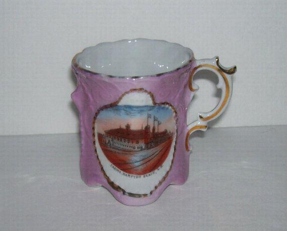 Antique Hampton Beach Casino NH Souvenir Cup by TimeSpanTreasures, $20.00