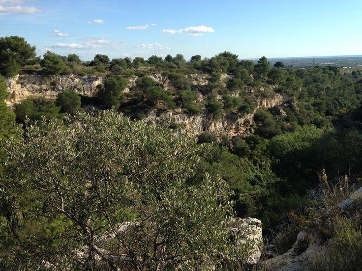 A Mottola un paesaggio che cattura lo sguardo e riempie l'anima, tra roccia e macchia mediterranea