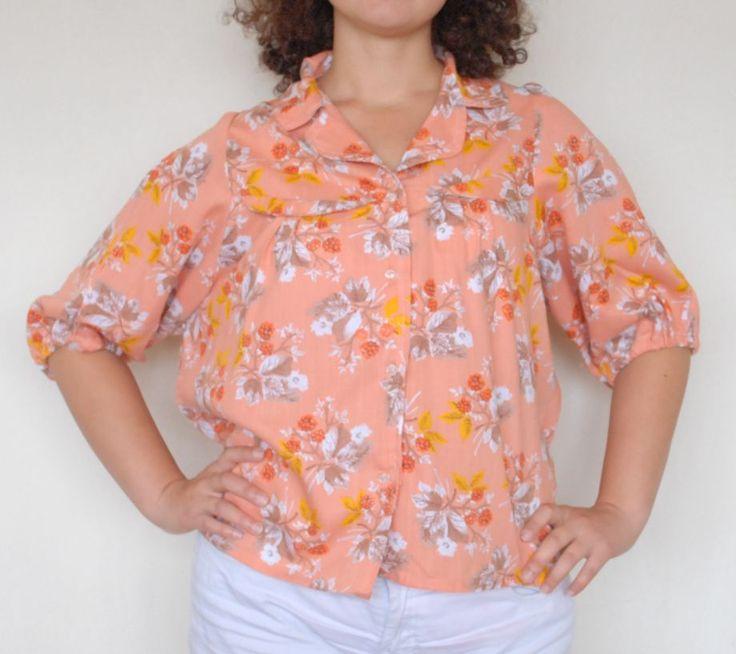 Vintage baharı için özel el dikimi vintage gömlek 60 TL. Detaylı bilgi için http://bit.ly/19nXgWr