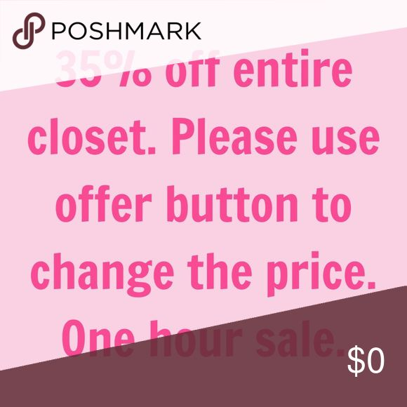 SALE SALE entire closet clearance cheap low price All prices 35% off their listing price please use offer button to make a deal. lululemon athletica Tops Blouses