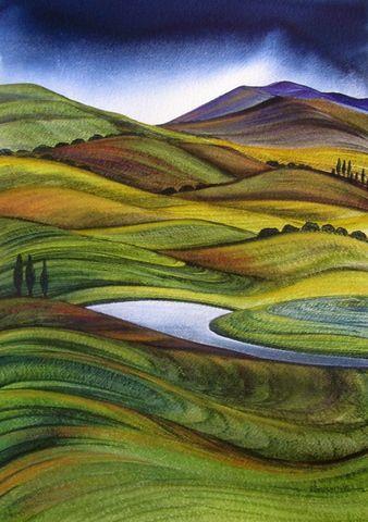 Rural Landscape - Raewyn Harris