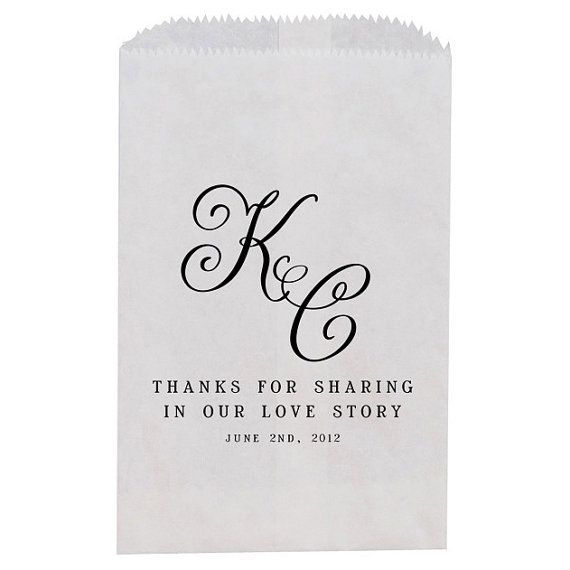 Rustic Wedding Favor  Treat Bag Favor Bag Candy by inoroutmedia, $32.00